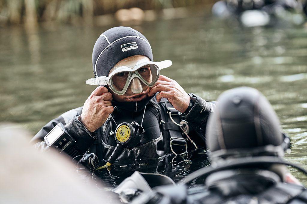 Sidemount-Tauchen Vorbereitung