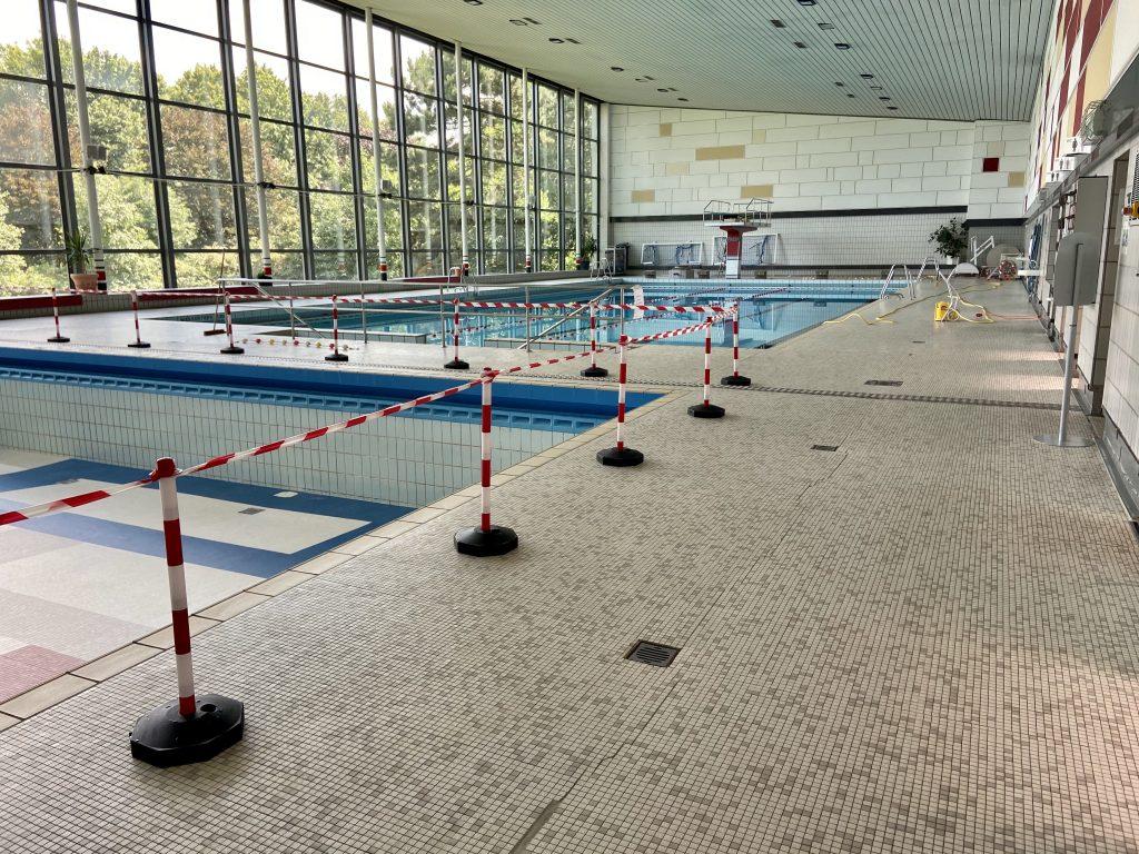 Corona Schwimmbad Situation