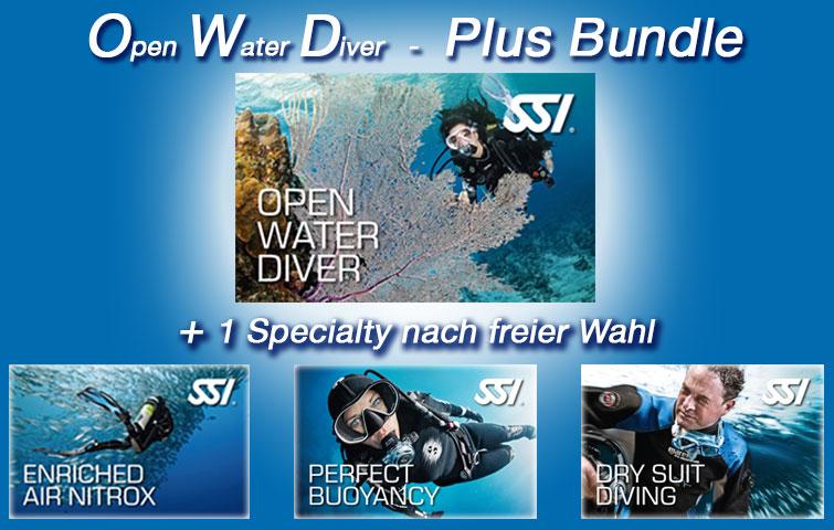 Open Water Diver Plus Bundle