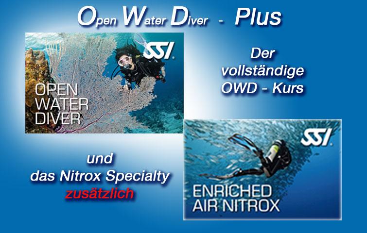Open Water Diver Plus Nitrox